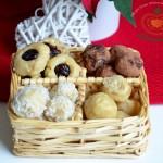 3 + 1 druh raw vánočního cukroví v jednom: Limetkové kuličky s brusinkou