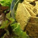 Cibulovo-koprové krekry (raw, vegan, bez lepku)