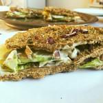 Sandwich na italský způsob s kapary (raw, vegan, bez lepku)