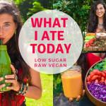 FullyRawKristina: Co jsem dnes jedla? Jídelníček na 1 den, raw vegan a s nízkým obsahem cukru (keto)